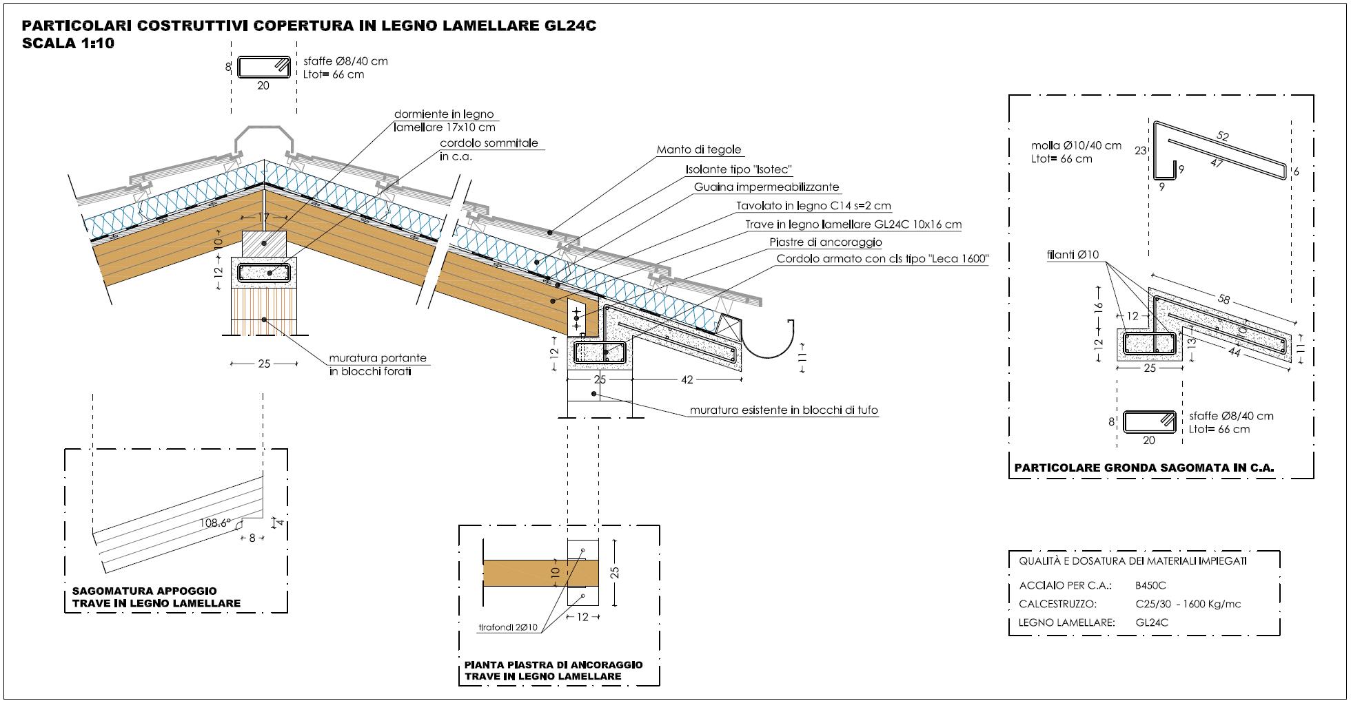 Lastre tralicciate lastre tralicciate tipo predalles for Tetti in legno particolari costruttivi